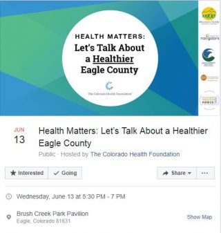 June 13 event The Colorado Health Foundation